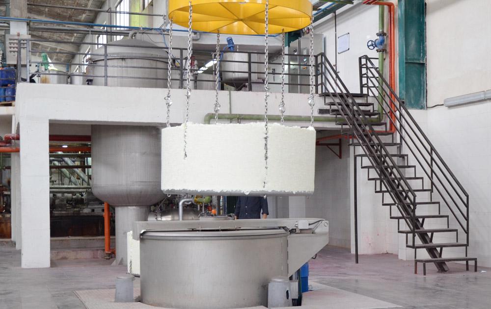 Loose fibre hydro extractor