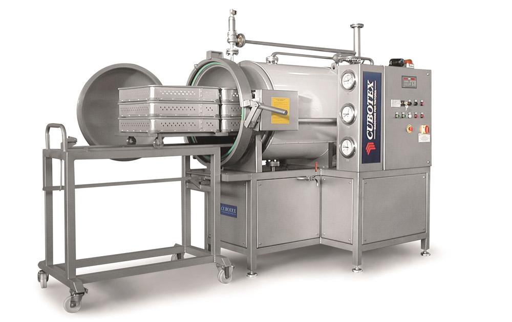 Laboratory vacuum steamers